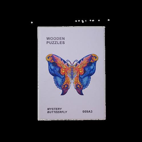 A3 Dierenpuzzel | Mystery Butterfly #009