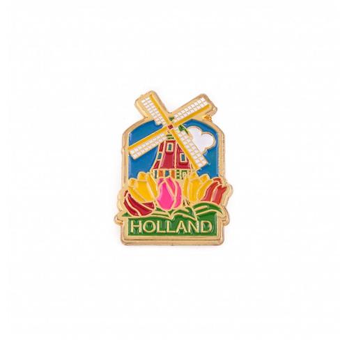 Gouden Hollandse Molen Pin