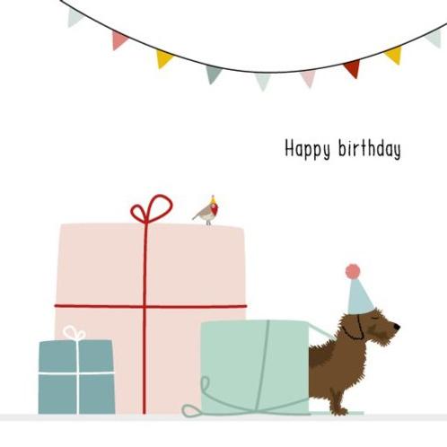 """Frits de Teckel: """"Happy birthday"""""""
