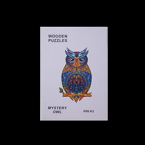 A3 Dierenpuzzel   Mystery Owl #006