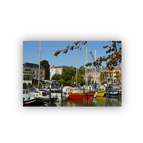 Ansichtkaart Dordrecht, Lange Geldersekade