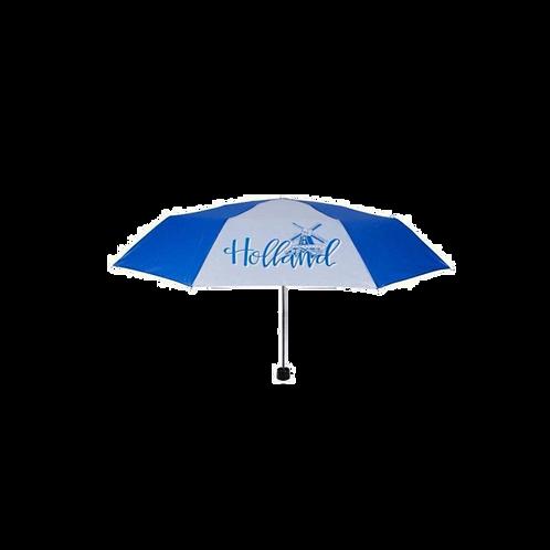 Holland Paraplu - Delfts Blauw Molen