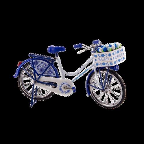 Miniatuurfiets Delfts Blauw