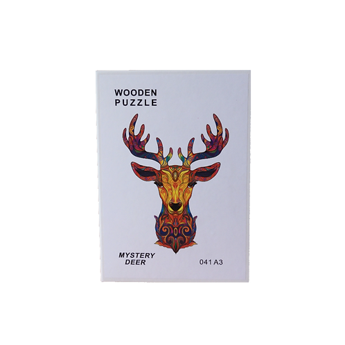 A3 Dierenpuzzel   Mystery Deer #041