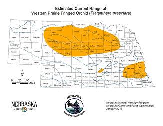 Whooping Crane migration adn critical habitat range map.