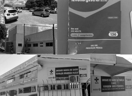 A via crúcis para conseguir pílula do dia seguinte em Maceió