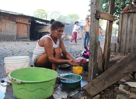 Contra a Covid-19: movimentos solicitam implantação de pias nas comunidades da Lagoa