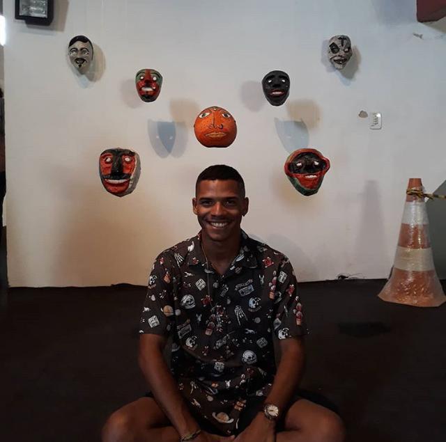 Dário Alves, 19, estudante da rede pública de ensino