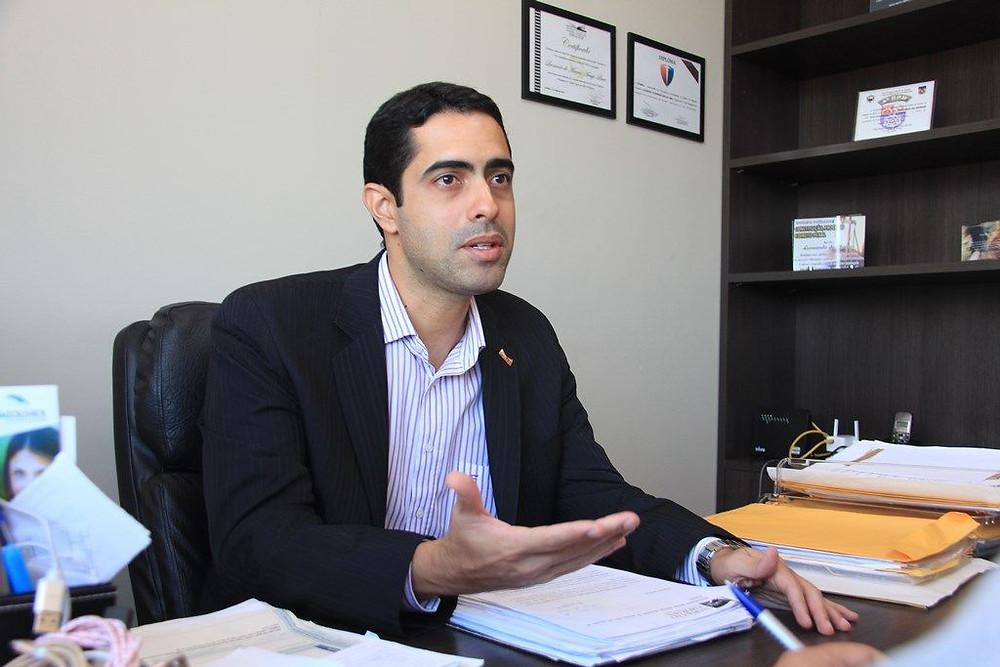Secretário Geral da OAB-AL, Leonardo de Moraes. Foto: Ascom OAB/AL