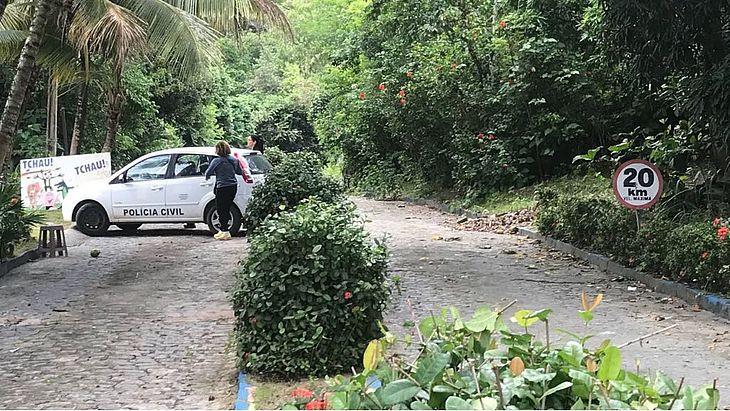 Polícia chegou a realizar buscas na região do antigo EcoPark (Foto: TNH1)