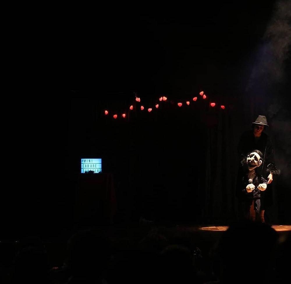 Espetáculo: Mini Cabaré Tanguero. Foto: Amanda Moa.