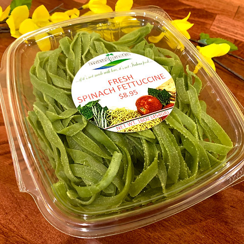 Fresh Spinach Fettuccine