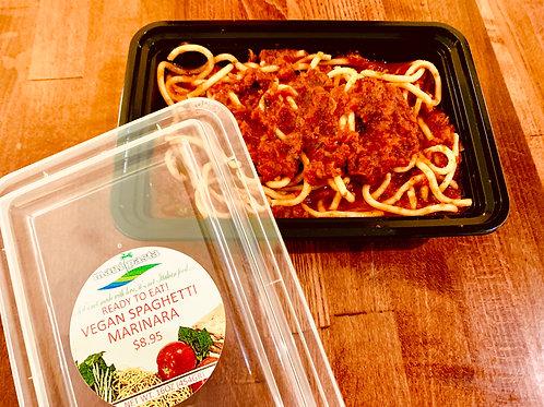 Vegan Spaghetti Marinara
