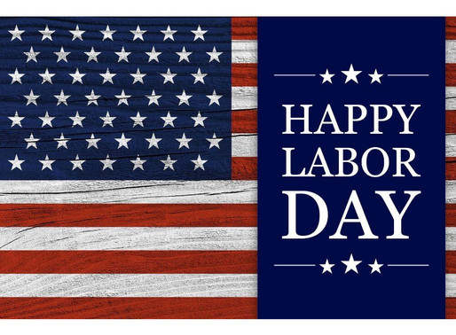 9/7 CLOSED FOR LABOR DAY