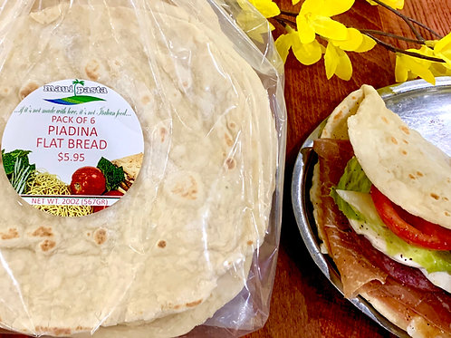 Piadina Flat Bread - Pack of 6