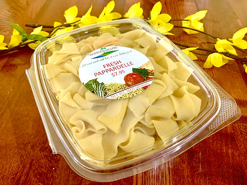 Fresh Pappardelle