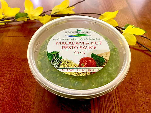 Macadamia Nut Pesto Sauce