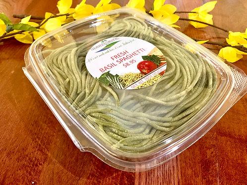Fresh Basil Spaghetti