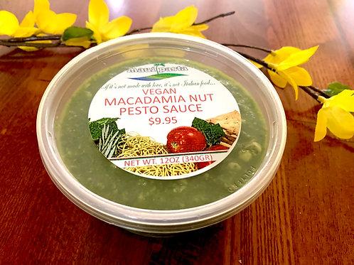 Macadamia Nut Vegan Pesto Sauce