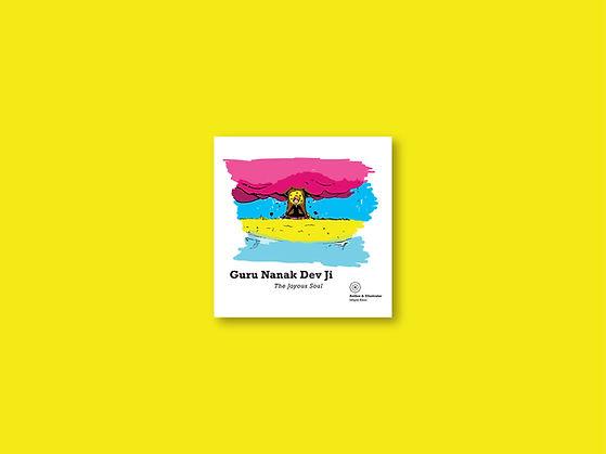 Gur Nanak Dev Ji joyous soul - marketing