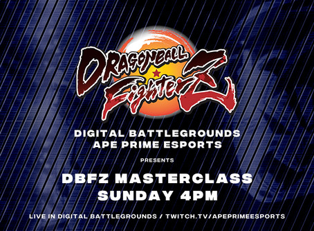 Dragonball FighterZ Master Class