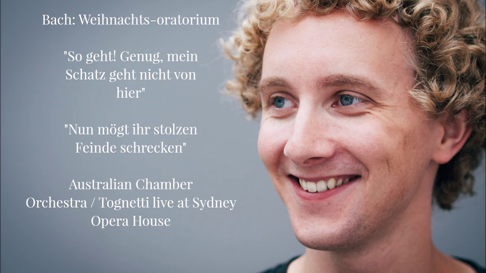 Bach: Weihnachts-oratorium with Australian Chamber Orchestra