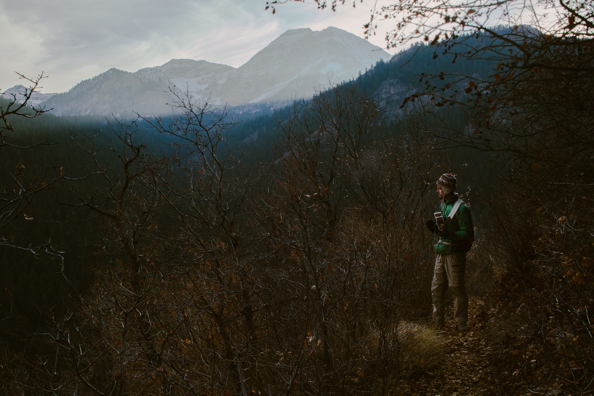 Joe and Mt. Timpanogos