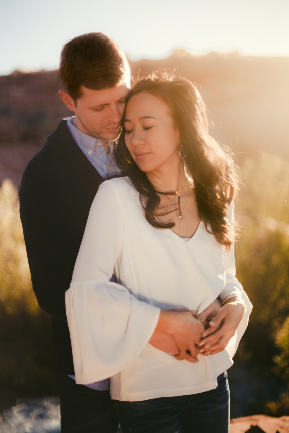 Matt & Tanya, Sand Hollow