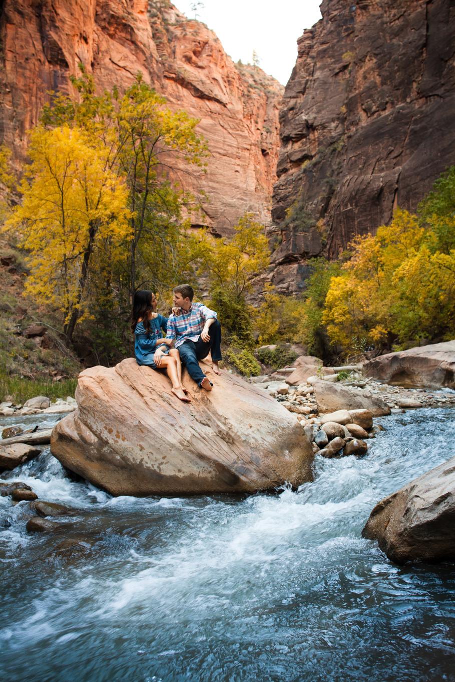 Matt & Tanya, Zion National Park