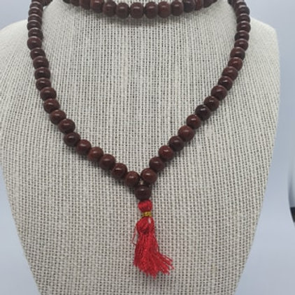 Mala Beads ROSEWOOD