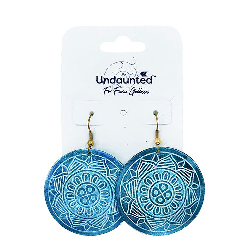 Undaunted Celeste Earrings Teal
