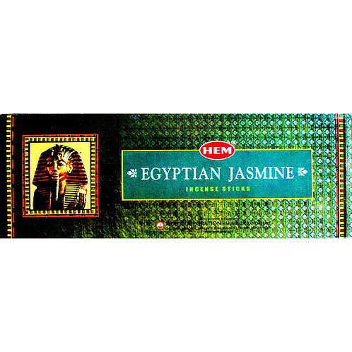 HEM Incense Hex EGYPTIAN JASMINE 20 stick BOX