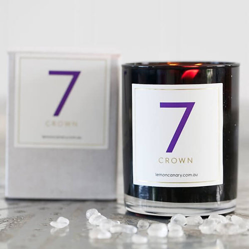 'RAINBOW ORGANIC' #7 CANDLE – DIVINE (VIOLET)