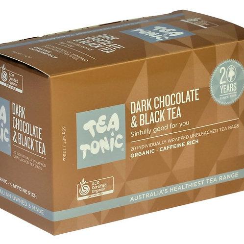 DARK CHOCOLATE & BLACK TEA TEABAGS
