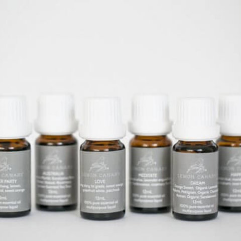 ORGANIC ESSENTIAL OIL BLEND KIT – INCLUDES 7 BLENDS