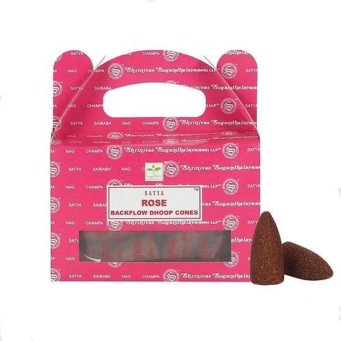 Satya Cones Backflow ROSE BOX