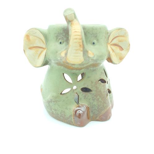 Ceramic Oil Burner LUCKY ELEPHANT
