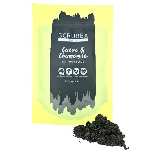 Cacao & Chamomile Salt Body Scrub