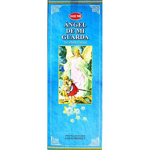 HEM Incense Hex ANGEL DE MI GUARDA 20 stick BOX