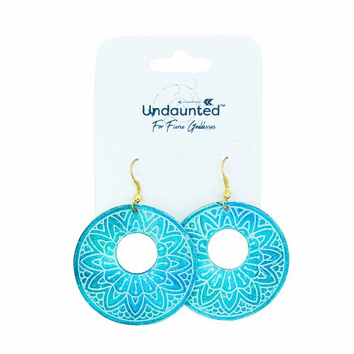 Undaunted Luna Earrings Teal