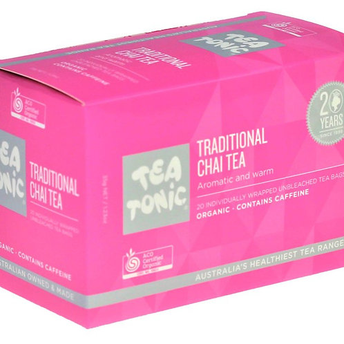TRADITIONAL CHAI TEA TEABAGS