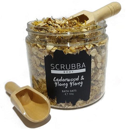 Cedarwood + Ylang Ylang Bath Oats Soak