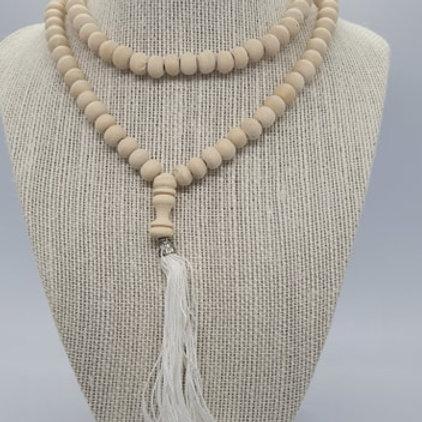 Mala Beads WHITE