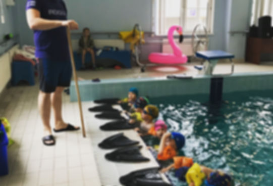 Плавани в бассейне Андрияки