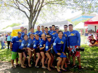 Catch22 is Sponsored by Cambridge College at the Boston Dragon Boat Festival!