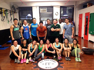 Winter Training at Fit Factory NYC