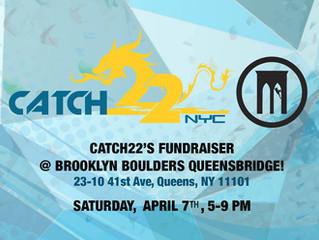 Catch22's 2018 Fundraiser @ Brooklyn Boulders Queensbridge!