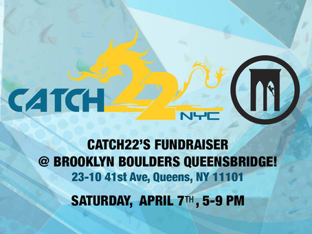 Catch22's 2018 Fundraiser @ Brooklyn Boulders Queensbridge!