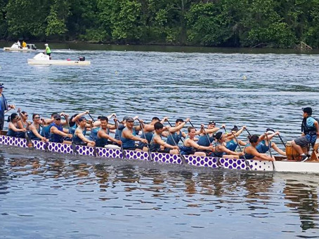 Independence Dragon Boat Regatta in Philadelphia