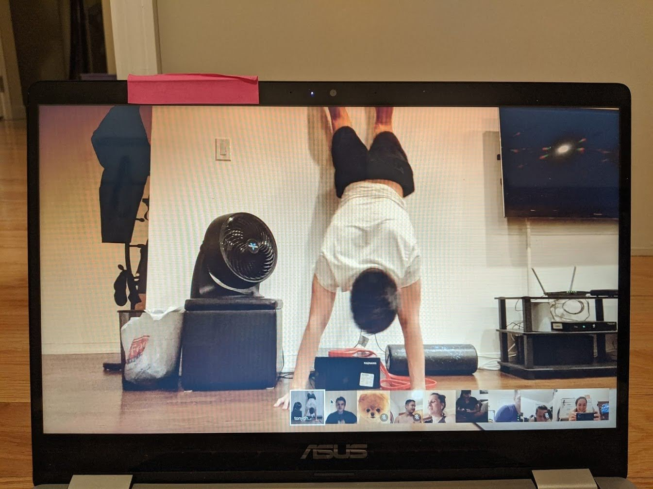 Virtual Team Workout